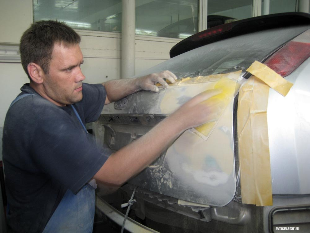 Как облить авто своими руками 2