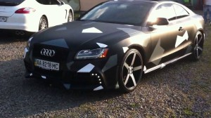 Audi камуфляж