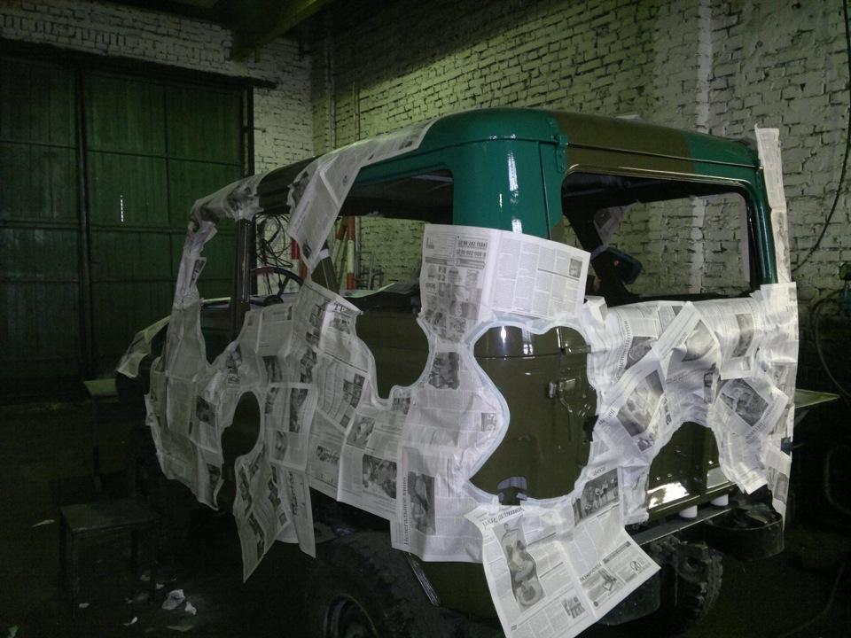Как покрасить машину своими руками в камуфляж