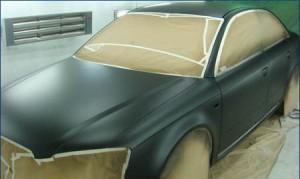 Покраска авто в матовый цвет своими руками