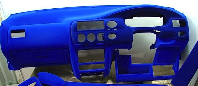 Чем покрасить панель авто своими руками