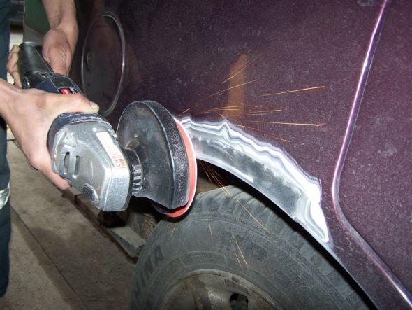 Как удалить ржавчину на автомобиле своими руками