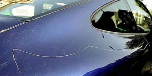 Затирка царапин на автомобиле своими руками