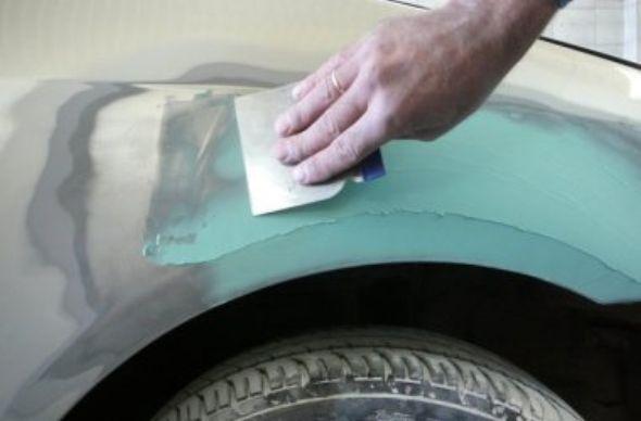 Как своими руками сделать шпаклевку для авто