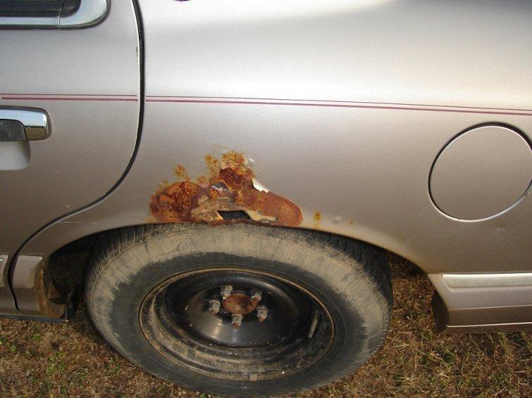 Средство от ржавчины на автомобиле своими руками